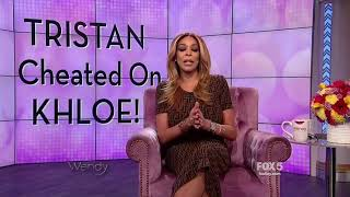 Wendy Williams weighs on Tristan Thompson and khloe Kardashian cheatuation