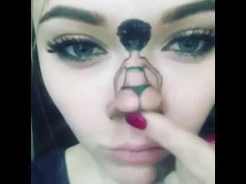 Hot baby nose dance