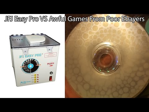 Fixing Multiple Bad eBayers Scratched Games with JFJ Easy Pro