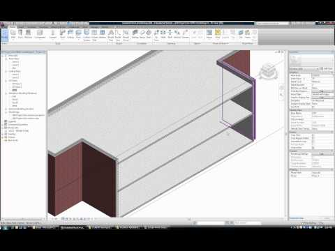 040 Tutorial: How to Create floors roof and mezzanine in REVIT Architecture