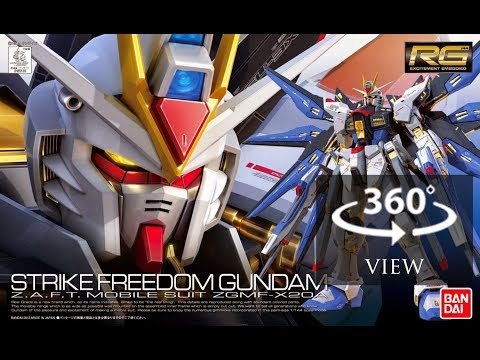 [360°Degree] RG 1/144 Strike Freedom Gundam