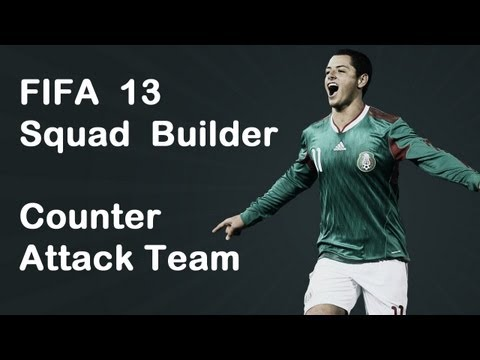 FIFA 13 - Ultimate Team - Squad Builder - BPL PACE TEAM