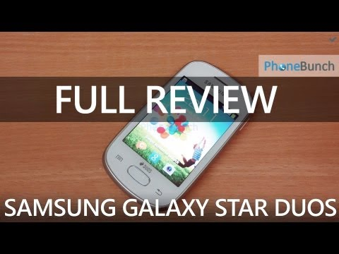 Samsung Galaxy Star Duos S5282 Full Review