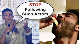 Akshay Kumar Slams Ajay Devgan And Sanjay Dutt For Endorsing Gutka
