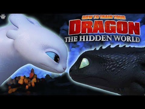 FIRST LOOK AT THE HIDDEN WORLD! How to train your Dragon 3 (Promo images)