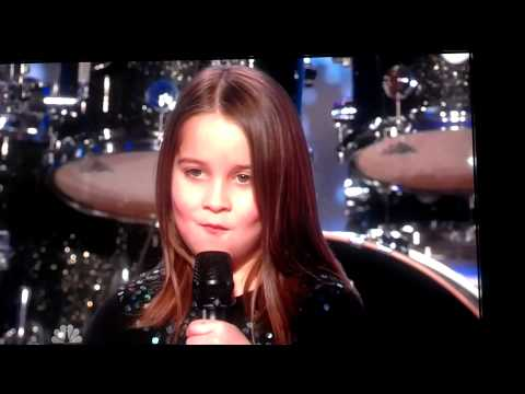 Little Girl Singing Screamo - America's Got Talent