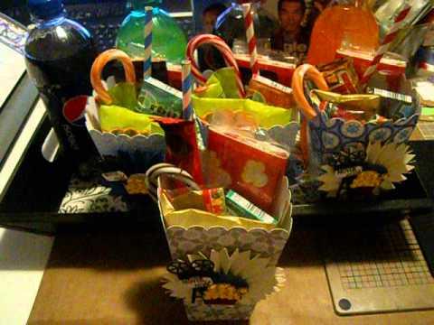 Family Movie Night Popcorn Buckets