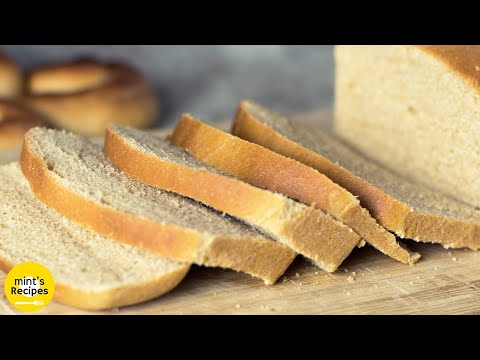 How To Make Whole Wheat Bread in a Pressure Cooker |  Whole Wheat Flour Brown Bread