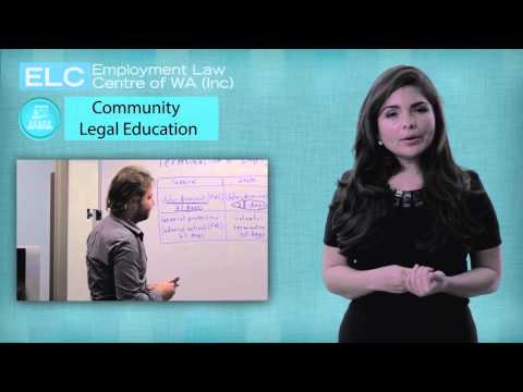 Welcome to ELC: 6. Community Legal Education