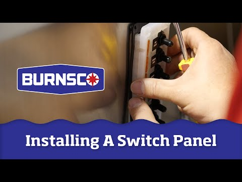 How to Install a Switch Panel on Your Boat