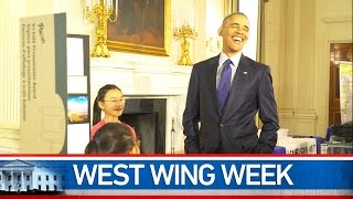"""West Wing Week 4/15/16 or, """"I Understand We Have a Live Chicken!"""""""