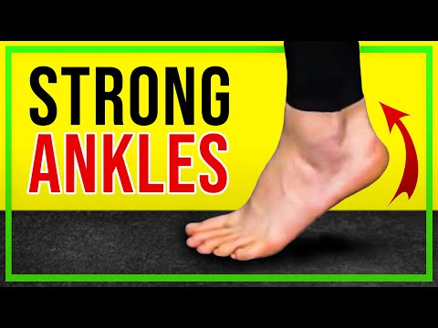 Three Ankle Strengthening Exercises - No Equipment Required