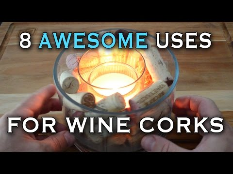 8 AWESOME Uses for Wine Corks
