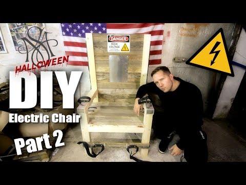 DIY Electric Chair Halloween Prop - Part 2 | Marc Sueper |
