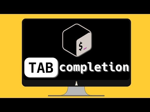 Command-line completion (tab completion)