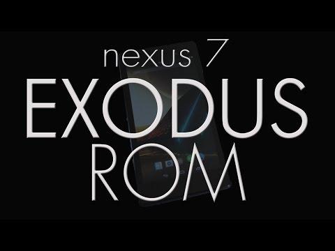 Nexus 7 2013 ~ ROMS in a FLASH (Exodus ROM)