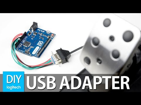 DIY USB LOGITECH PEDAL ADAPTER