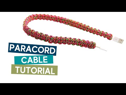 Paracord phone cable tutorial