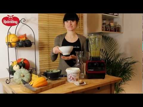 Recipe for Raw Pumpkin soup with the Vitamix