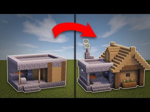 Minecraft: How To Remodel A Village Blacksmith