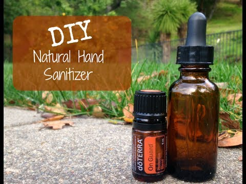 How to Make Easy DIY Natural Hand-Sanitizer Spray with Essential Oils