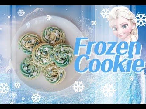 ::cookie::겨울왕국 앙금쿠키 만들기Frozen cookies