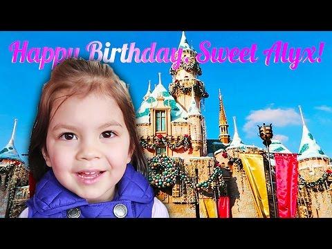Toddler Birthday Fun at Disneyland (12.06.16)