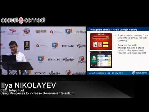 Using Minigames to Increase Revenue & Retention | Ilya NIKOLAYEV