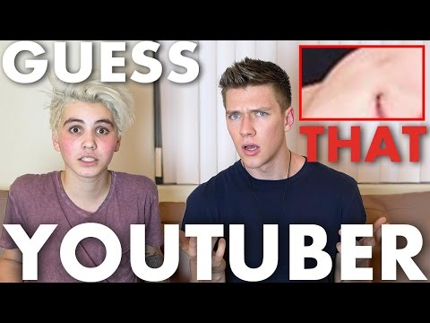 Guess That YouTuber CHALLENGE | Sam Pottorff & Collins Key