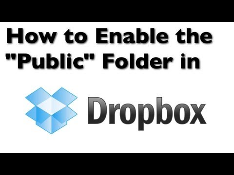 Dropbox Hints: How to Enable the