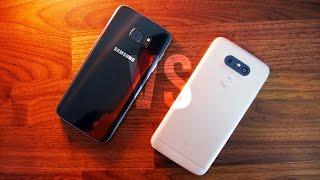 Samsung Galaxy S7 Edge vs LG G5 Comparison!