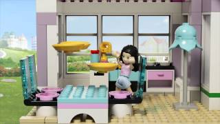 Snow Resort Chalet By Lego Friends 41323 Exploration