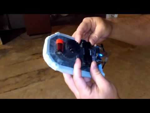 Mini R/C Hovercraft Homemade (Short run)