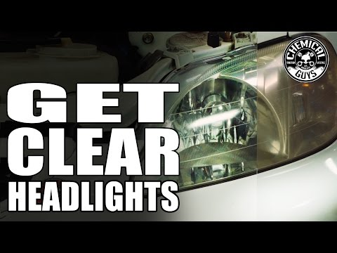 How To Clean Up Headlights - Chemical Guys Car Care