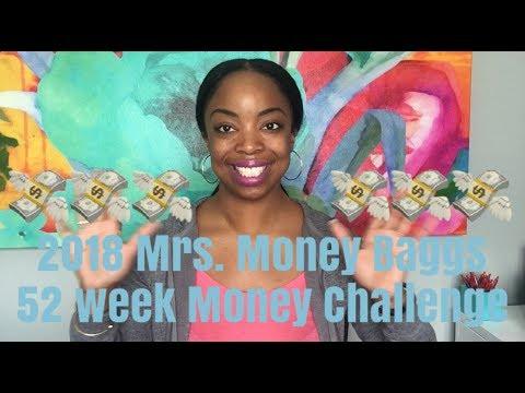 2018 Mrs. Money Baggs aka Nicolle Williams 52 Week Money Challenge