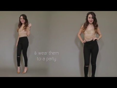 3 Ways To Style Your High-Waist Jeans