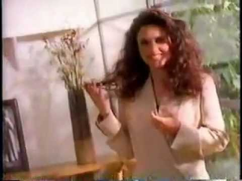 Julia Louis-Dreyfus in a Clairol Nice N Easy Commercial from 1993