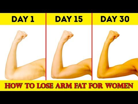 How to Lose Arm Fat & Get Quick Fat Loss Naturally at Home without Exercise - By WekeBuzz