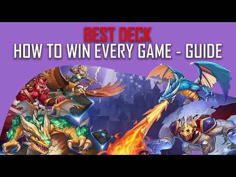 Card Monsters Best Deck - How to Win Almost Every Game in Card Monsters - Guide