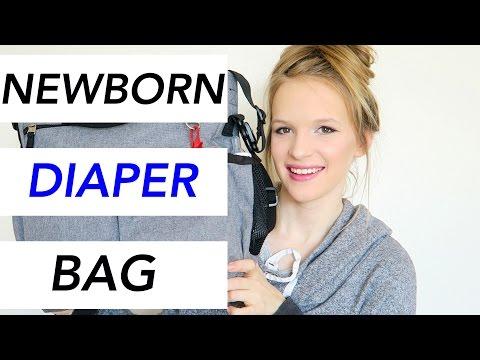 WHATS IN MY NEWBORNS DIAPER BAG? ♡