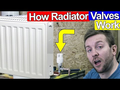 HOW RADIATOR VALVES WORK AND HOW TO SET THEM - TRV/Thermostatic