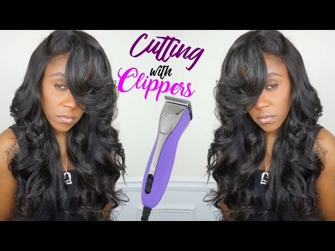GET LAYERS IN YOUR HAIR USING CLIPPERS   TUTORIAL   CELIE HAIR ALIEXPRESS