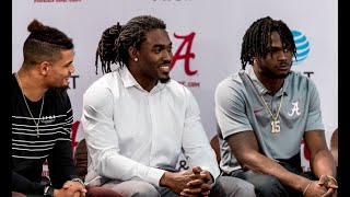 Alabama announces departing juniors for NFL draft