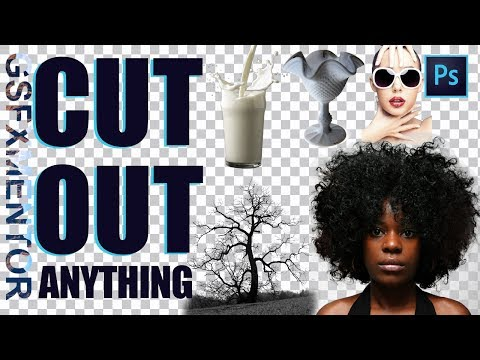 How To Cut Anything Out in Photoshop | Adobe Photoshop cc 2018 tutorial