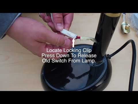 BlueMax™ Floor and Desk Lamp Switch Replacement