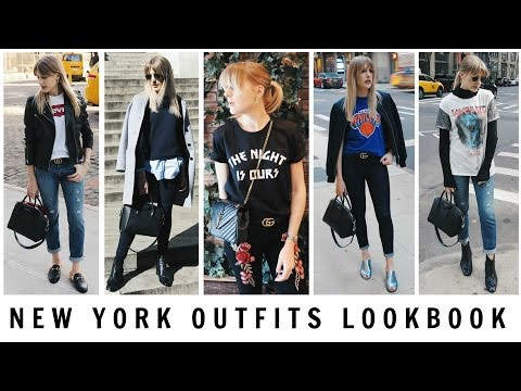 NEW YORK OUTFITS LOOKBOOK // What I Wore in New York | Charlotte Buttrick