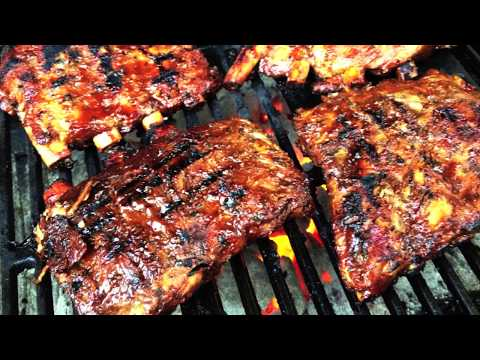 CrockPot Slow Cooker Ribs (Barbecue ish) - Finish off Under Broiler or Grill