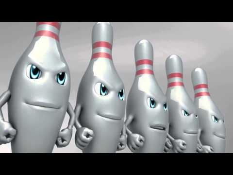 الوحدة : دعاية فكاهية البولنغ - Unity: funny bowling commercial