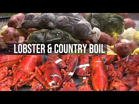 Beef Roast, Lobster, and Country Boil at the Pit
