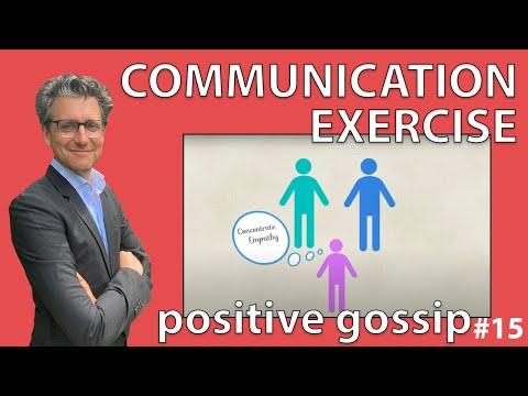Communication Exercises- Positive Gossip #15